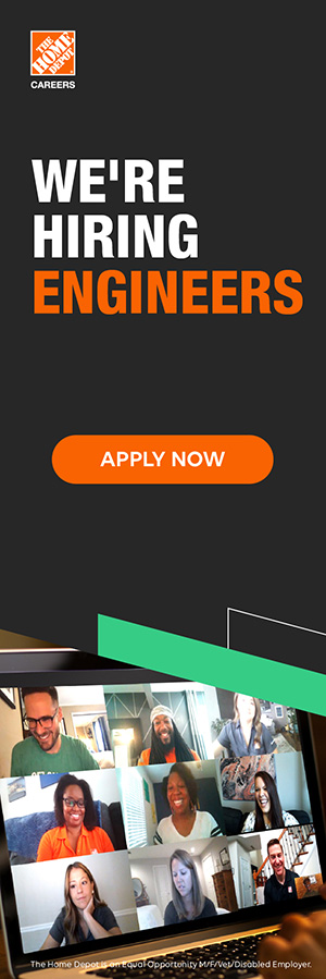 Home Depot Careers ad vertical