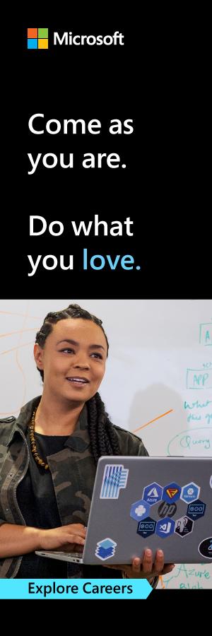 microsoft ad vertical to explore careers